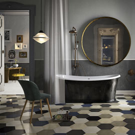 IMOLA CERAMICA_APPARENT REALITY_3D_EMOTIVE TRACE_BAGNO CLASSICO_VIRTUAL SET