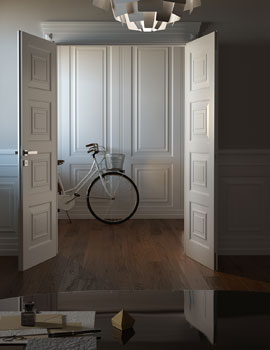 GAROFOLI SPA_APPARENT REALITY_ESSENTIAL STYLE _ 3D_PORTE IN LEGNO